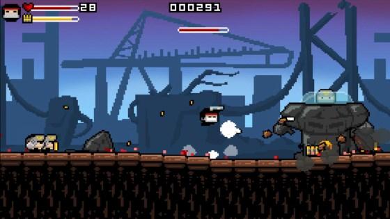 Gunslugs 2, a 2D game by Orangepixel