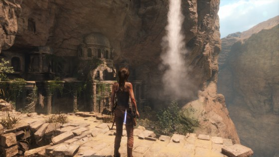 Tomb Raider, a 3D game by Square Enix